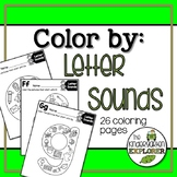 Color By Letter Sounds