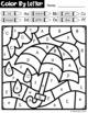 Color By Letter: The Four Seasons BUNDLE