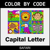Color By Letter (Uppercase) - Safari