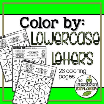 Color By Lowercase Letter