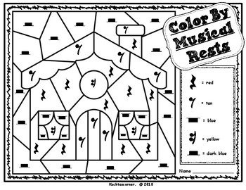 Color By Music: Nursery Rhyme/Fairy Tale Collection - Little Red Riding Hood