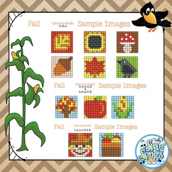 Color By Music Fall- Recorder Notes - BAG - BAGCD - BAGED