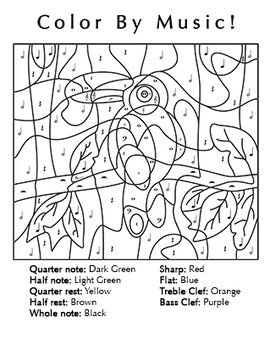 music coloring pages by numbers - photo#26