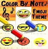 Color By Note ~ Emoji Theme  ~
