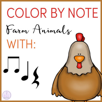 Color By Note Farm Animals