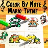 Color By Note ~ Mario Theme ~