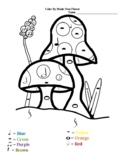 Color By Note Mushroom Garden Beginner