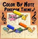Color By Note ~ Pokemon Theme ~