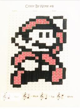 Color By Note ~ Super Mario FREEBIE! ~