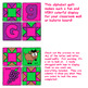 Color By Number Alphabet Quilt - (Upper & Lower Case Letters and Letter Sounds)