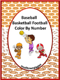 Color By Code  Math, Fine Motor Skills Sports, Special Education Math