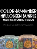 Color-By-Number Bundle: Halloween Edition