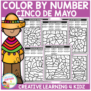 Color By Number: Cinco de Mayo - Fiesta