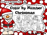 Color By Number Christmas {25 days of Christmas Fun!} Kind