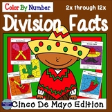 Cinco de Mayo Division Facts Color By Number