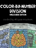 Color-By-Number Division: Halloween Edition