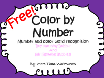 Color By Number Free