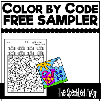 Color By Number: Free Sampler