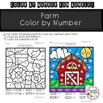 Color By Number- Fun Bundle