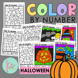 Color By Number: Halloween Edition
