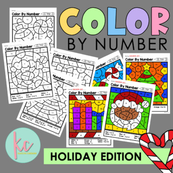 Color By Number: Holiday Edition