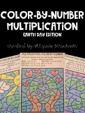 Color-By-Number Multiplication: Earth Day Edition