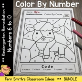 Color By Number Nursery Rhymes For Numbers 6 to 10 Color B