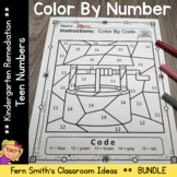 Color By Number Nursery Rhymes For Teen Numbers Color By C