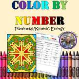 Color By Number- Potential/Kinetic Energy