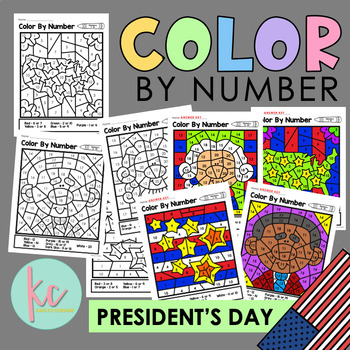 Color By Number: President's Day Edition