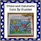 Color By Number - Prime and Composite Numbers Spring Theme