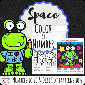 Color By Number - Space