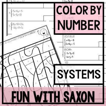 Color By Number (Systems of Equations)