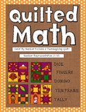 Color By Number - Thanksgiving Quilt (Number Representation 1-10)
