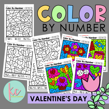 Color By Number: Valentine's Day Edition
