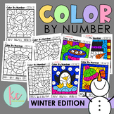 Color By Number: Winter Edition