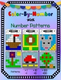 Color By Number With Number Patterns [1, 10, and 100 More/Less]