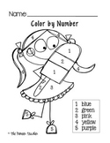 Color By Number Worksheets {Numbers 1-10}