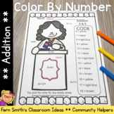 Color By Numbers Careers: Addition
