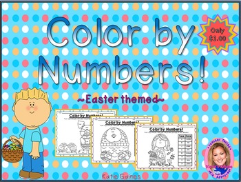 Color By Numbers: Easter themed!