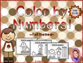 Color By Numbers: Fall themed!