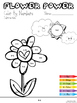 ***INDEPENDENT*** Color By Numbers - Flower Power - Basic Math Pack