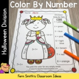 Color By Numbers Halloween Costumed Kids Division
