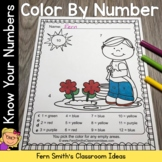 Color By Numbers Sunny Spring Know Your Numbers