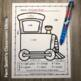 Color By Numbers Transportation Know Your Numbers With Bonus Coloring Pages