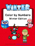 Color By Numbers: Winter Edition