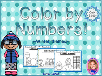 Color By Numbers: Winter themed!