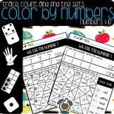Color By Numbers: Write and find (Numbers 1-10)