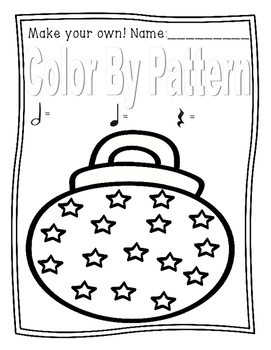 Color By Pattern Winter