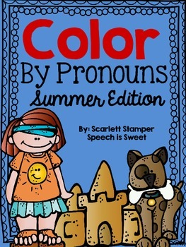 Color By Pronouns: Summer Edition